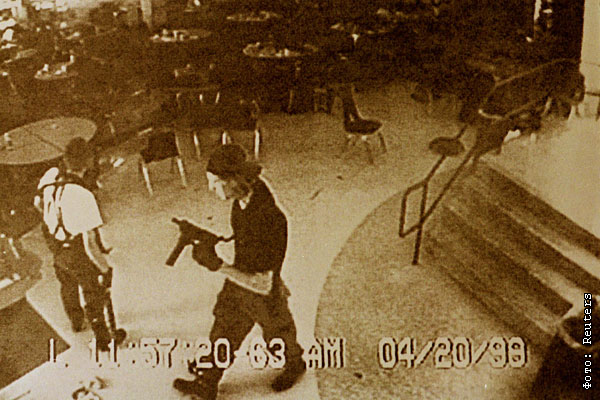 the details of the tragic shooting event at columbine high school