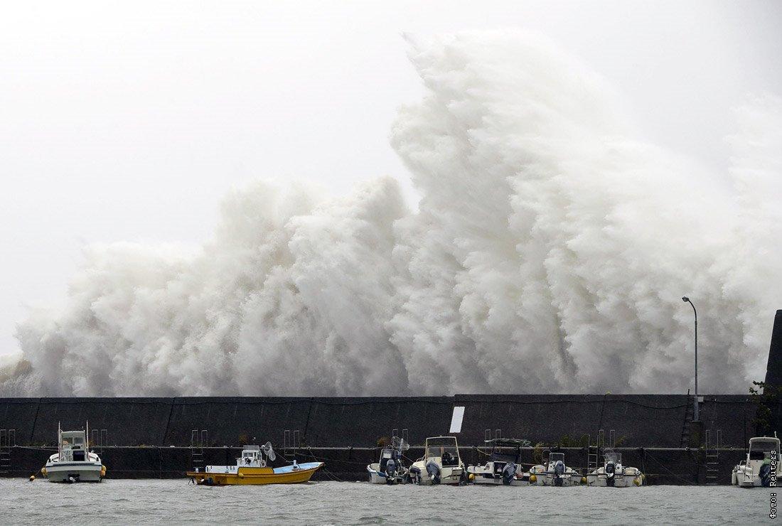 тайфун нору фото