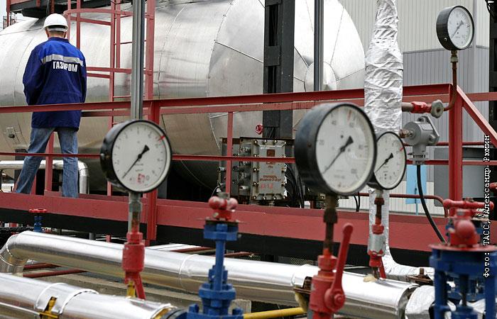 Экспорт российского газа в октябре упал на 17%