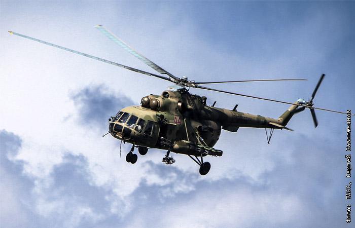Российский вертолет Ми-8 был сбит в ходе поисков на месте падения Су-24