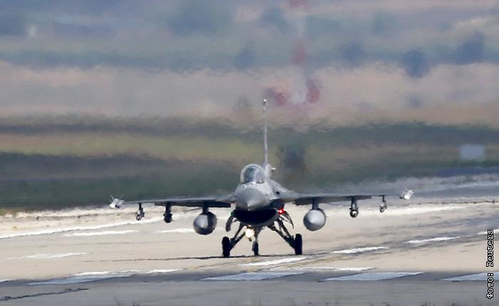 Самолеты ВВС Турции перестали летать над Сирией из-за конфликта с Москвой
