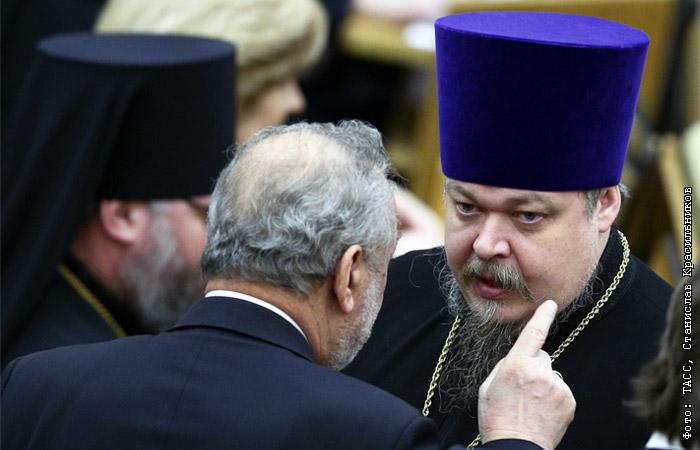 Протоиерей Всеволод Чаплин освобожден от должности