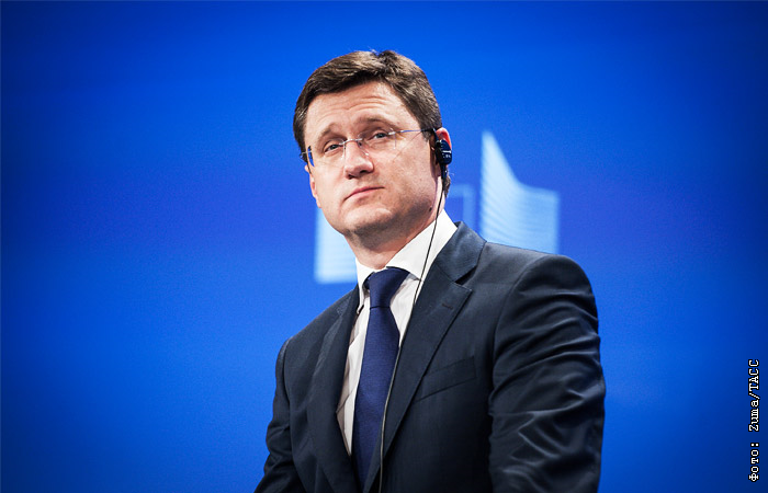 Новак начал встречу с представителями ОПЕК