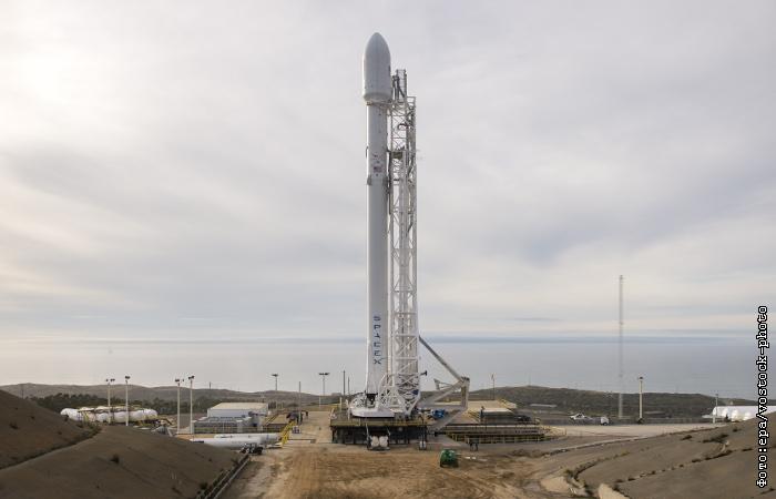 В США с пятой попытки запущена ракета Falcon 9