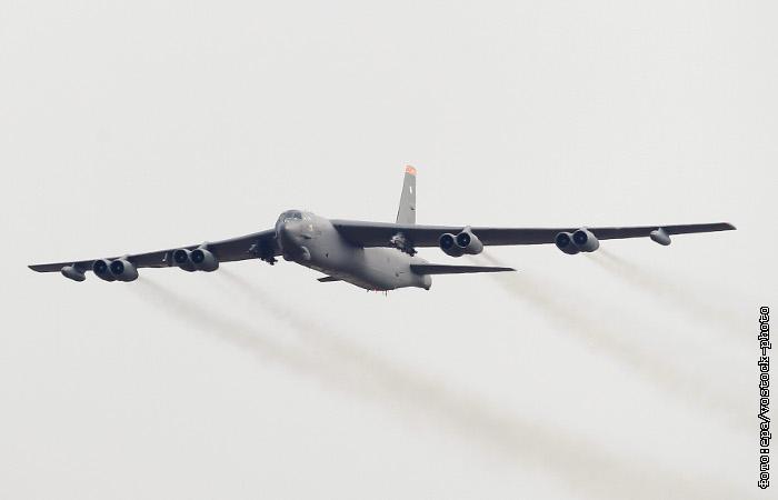 США отправили стратегические бомбардировщики B-52 на борьбу с ИГ
