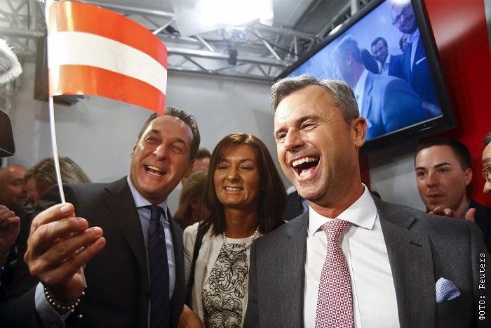 Крайний правый кандидат победил на австрийских президентских выборах