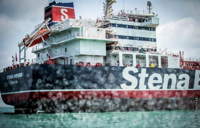 """Иранцы намеревались проверить танкер Stena Impero """"из соображений безопасности"""" - данные радиообмена"""