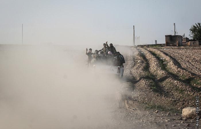 Террористы в Сирии атаковали позиции правительственных войск - СМИ