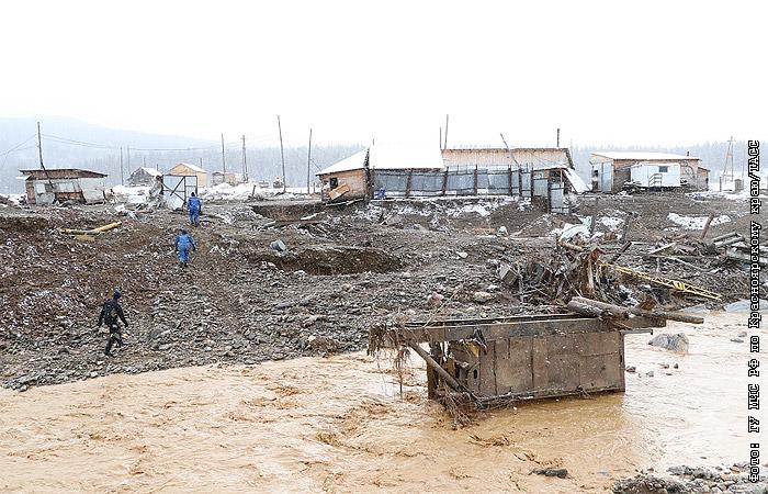 Трагедия в Сибири: поселок золотодобытчиков накрыло селью, свыше десяти погибших