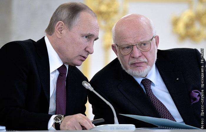 Путин сменил главу своего Совета по правам человека