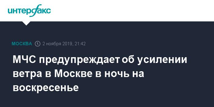В Москве из-за урагана погибли шесть человек