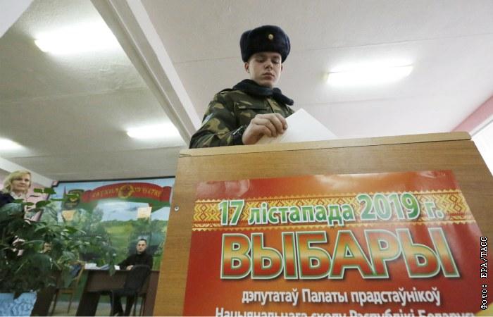Более 35 проц. белорусов досрочно проголосовали на выборах депутатов Палаты представителей