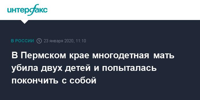 Во Владимирской области обнаружено тело матери подозреваемого в массовом убийстве детей