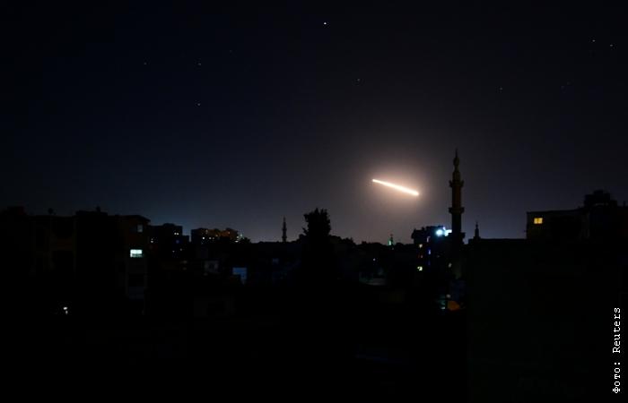 Российские корабли в Каспийском море выпустили ракеты по целям в Сирии