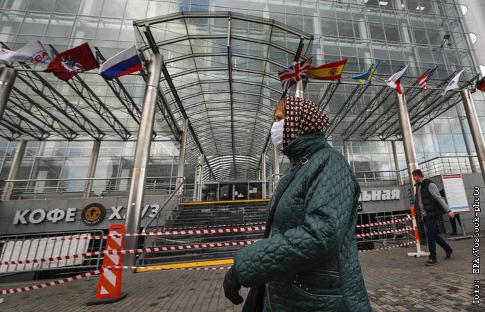 Аптеки и продуктовые магазины закрыли часть точек в ТЦ