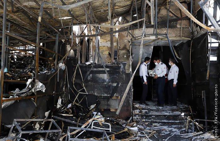 """Ответственность за пожар на ядерном объекте в Иране взяли на себя """"Гепарды родины"""""""