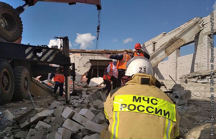 Обрушение строящегося ТЦ: завершены спасательные работы