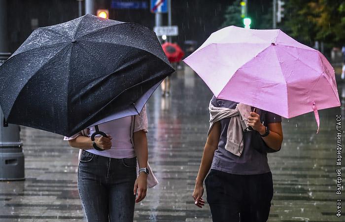 В Москве ожидаются подтопления из-за сильных дождей