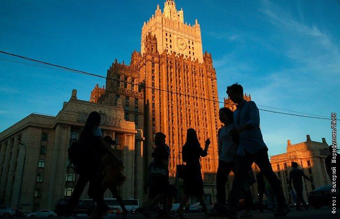 МИД РФ: арест россиян в Беларуси не соответствует духу братских отношений двух стран