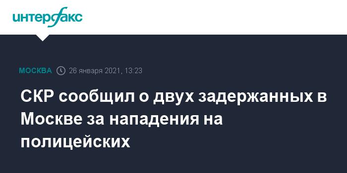 За насилие в отношении полицейских на незаконной акции в Москве задержаны два уроженца Калмыкии
