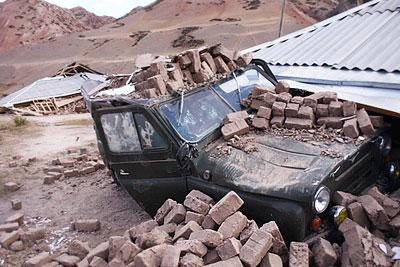 Землетрясение в Киргизии