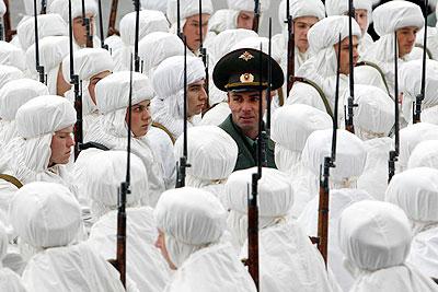 Торжественное шествие, посвященное параду 1941 года
