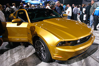 Ford представил Mustang 2010 года