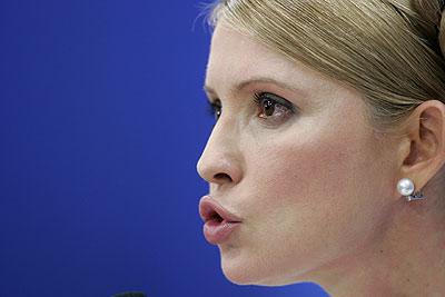 Юлия Тимошенко обвиняет Нацбанк