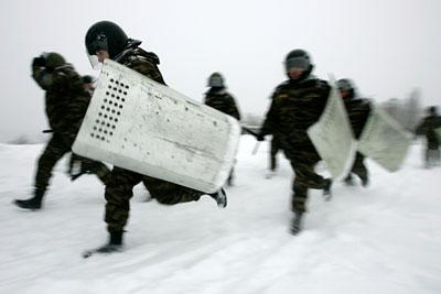 В Ставрополе милиция разогнала демонстрацию