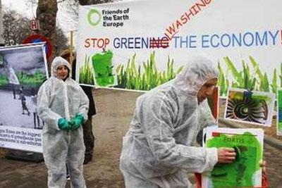 Акция движения Friends of the Earth Europe