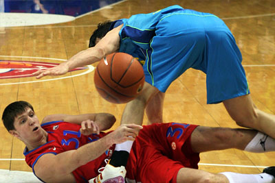 Евролига УЛЕБ по баскетболу: ЦСКА (Россия) – «Барселона» (Испания)