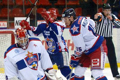 Чемпионат России по хоккею: ЦСКА (Москва) – СКА (Санкт-Петербург)