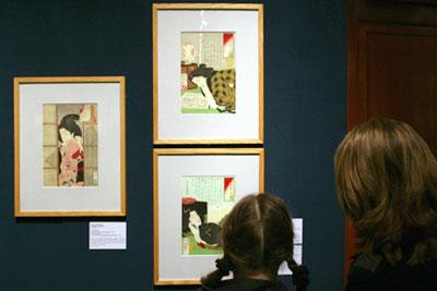 Выставка японской ксилографии в ГМИИ им.Пушкина