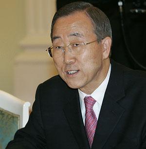 Пан Ги Мун: Мы вступили в новую стадию глобализации