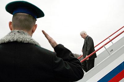 Шеф Пентагона Роберт Гейтс прибыл в Москву