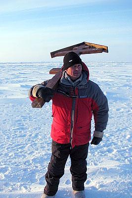 Божественная литургия на Северном полюсе