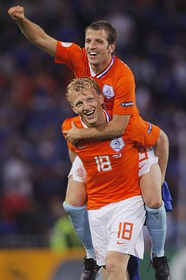 Чемпионат Европы 2008 по футболу: Нидерланды - Франция 4:1