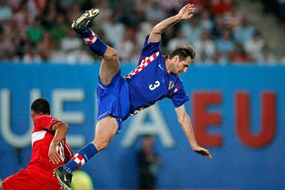 1/4 финала Евро 2008: Хорватия - Турция