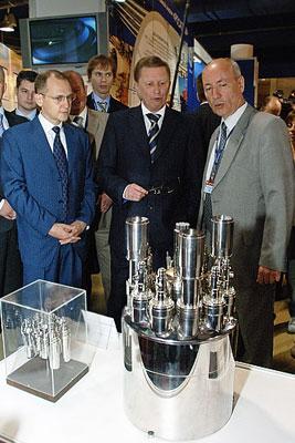"""Выставка по развитию атомной энергетики """"ATOMCON-2008"""""""