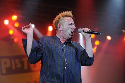 Концерт группы Sex Pistols в Москве