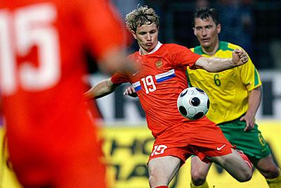 Товарищеский матч. Россия - Литва - 4:1