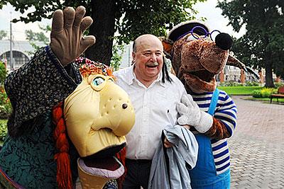 Открытие X Всемирного фестиваля детских театров