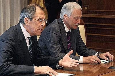 Cовещание с членами Совета безопасности РФ