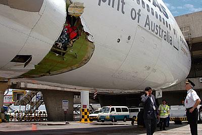 Самолет авиакомпании Qantas совершил экстренную посадку в Маниле