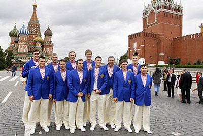 Проводы сборной команды России на Олимпийские игры