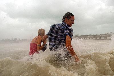 """Ураган """"Айк"""" покинул побережье Кубы и движется к Техасу"""
