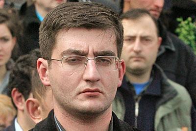 В Тбилиси задержан сын Гамсахурдиа