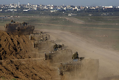 Израиль расширил операцию в секторе Газы