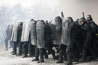Беспорядки в Литве