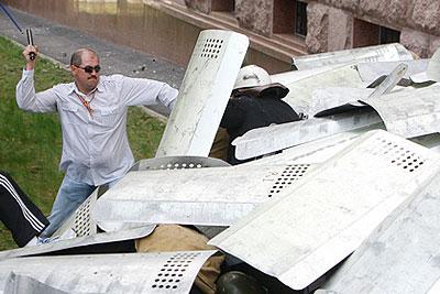 Массовые беспорядки в столице Молдавии